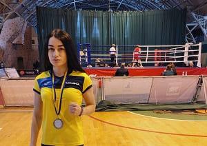 Воропай Юлия второе место на Чемпионате Украины